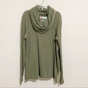 Free People Beach Cowl Neck Cocoon Pullover One Body S/M